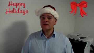Happy Holidays from Seb