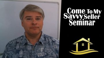 Savvy Seller Seminar in January 2019
