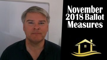 November 2018 Ballot Measures