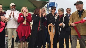 Seacliff Village Park Ribbon Cutting December 10 2015