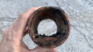 Sewer Lateral – Cast Iron – 40+ Years Old