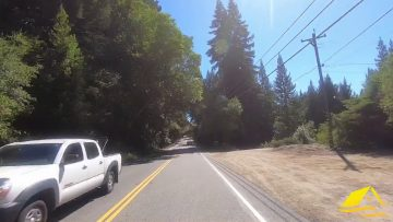 From Highway 17 @ Summit to Soquel via Summit / Old San Jose Roads in 4 Minutes