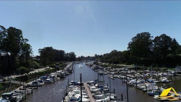 Santa Cruz Yacht Harbor Drone Video