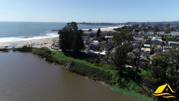 Twin Lakes Beach Santa Cruz – Drone Video in HD