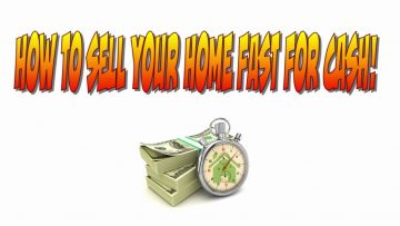 How To Sell Your Home Fast for Cash