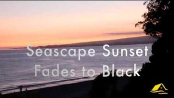 Sunset Fades to Black in 4K