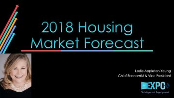 2018 California Housing Forecast