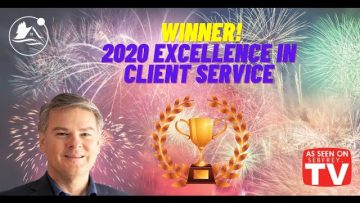 Winner!  2020 Excellence in Client Service